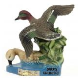 1981 Ducks Unlimited Beam Decanter