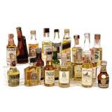 Mini-Bottles of Whiskey (20)