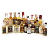 Mini-Bottles of Whiskey (19)