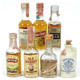 Mini-Bottles of Whiskey (7)