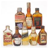 1930s / 40s Mini Bottle Lot (8 Bottles)