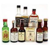 8 Mini Bottles + 1 Gag Bottle