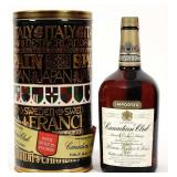 1966 1/2 Gallon Canadian Club Whisky Bottle