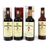 (4) Seagrams Seven 7 Crown - 750 ml