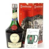Dom Benedictine Liqueur Bottle