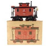 Jim Beam Train Red Caboose Decanter