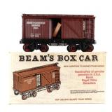 Jim Beam Train Box Car Decanter