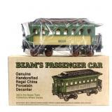 Jim Beam Train Baggage Car Decanter