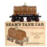 Jim Beam Train Tank Car Decanter