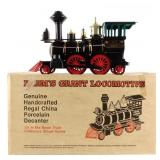 Jim Beam Grant Train Locomotive Decanter