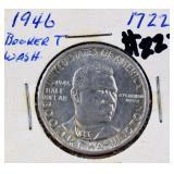 1946 Booker T Washington commemorative half dollar
