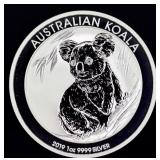 2019 Australian Koala (0.9999 silver)