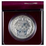 1988 US Olympic silver commemorative coin