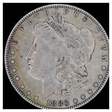3 Silver Dollars: 1883, 1921s Morgans, 1923s Peace