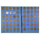 Lincoln cents collection (in Whitman books)