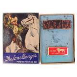 Lone Ranger Stamp Kit, 1939