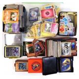 Pokemon cards (album and box)