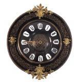 French Eight Day wall clock