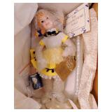 Franklin Heirloom Doll (Morton Salt Umbrella Girl)
