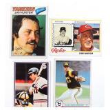 1977 - 1980 Baseball Card Lot, More than 200 Cards