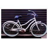 Bicycle - Huffy White Cruiser