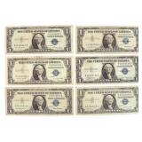 25 Silver Certificates, Including Star Notes