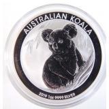 2019 Fine Silver Koala