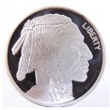 1 ozt Fine Silver Buffalo Round