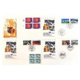 Coins, Stamps, First Day Covers