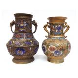 2 Urns - Champleve