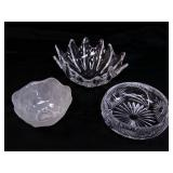 Decorative Crystal Bowls