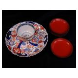 Asian Teacup and Plates