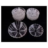 Crystal Snack Plates