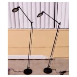 2 Black Reading Lamps