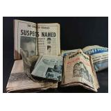 Various Vintage Newspapers 1950s-1970