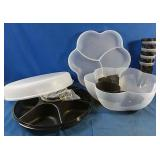 New Tupperware - Serving Center set, Chip