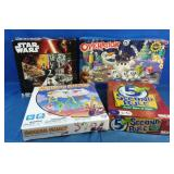 New 3 games and star wars puzzle