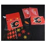4 New oversized NHL Christmas stockings (2