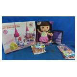 New kissing Dora, minions, Lego like set and