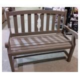 Wooden bench #1 40x22x38