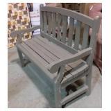 Wooden bench #2 - 40x22x38