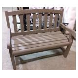 Wooden bench #3 -40x22x38