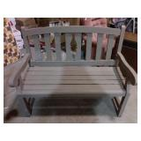 Wooden bench #4 - 40x22x38