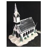 Ceramic light up Church