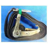 Extra heavy duty ratchet tie down