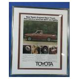 Authentic 1975 Toyota SR5 trucks ad