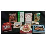 Assortment of cookbooks