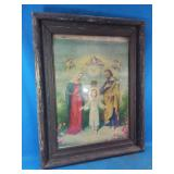 Vintage framed picture 21 x 27