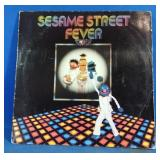 Sesame Street Fever LP including songs rubber