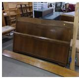 Headboard, footboard and rails 54 inches across